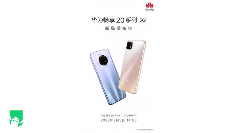 Huawei Enjoy 20 and Enjoy 20 Plus; Launching on 3rd September