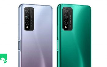 Honor 10x Lite back of two color variants