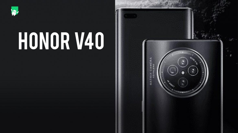 Honor V40 design leak reveals a stunning design